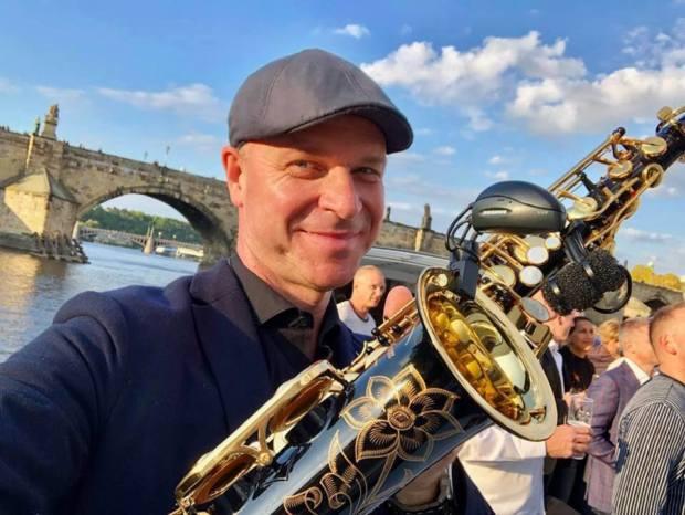 Saxofonista Vláďa