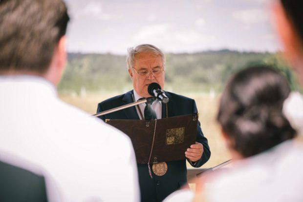 Ozvučení na svatební obřad