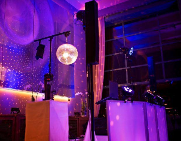 Zvuk a světla na večírku