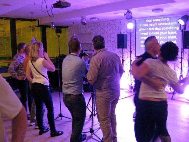 Karaoke na firemní akci