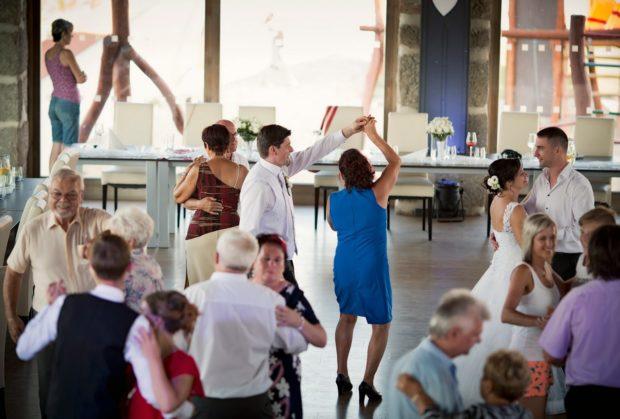 Tanec s rodinou a přáteli