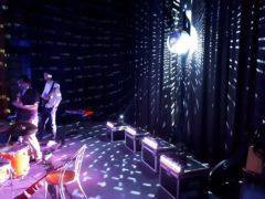 bodové nasvícení zrcadlové koule 2x 150W