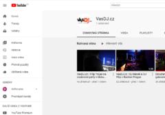 YouTube kanál VasDJ.cz nebo Filip Trojan