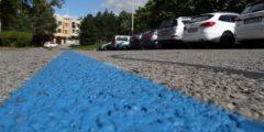 parkování na akci v modré zóně