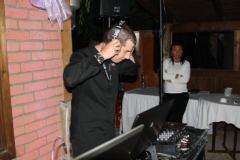 DJ na oslavě narozenin Milana Hniličky (2013).
