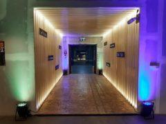 LED PAR reflektory 21x 5W Showtec