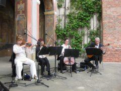 Ozvučení živé hudby na svatební obřad.
