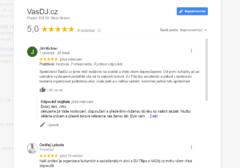 Google profil VasDJ.cz