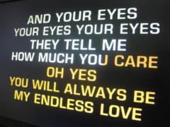Anglické karaoke klipy.