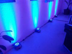 LED PAR reflektory 5x 4W American DJ